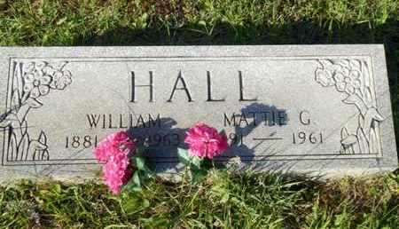 HALL, MATTIE G. - Simpson County, Kentucky | MATTIE G. HALL - Kentucky Gravestone Photos