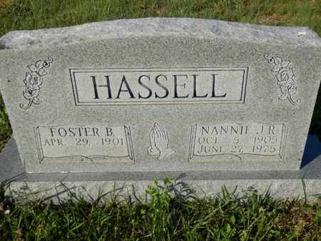 HASSELL, NANNIE J.R. - Simpson County, Kentucky | NANNIE J.R. HASSELL - Kentucky Gravestone Photos
