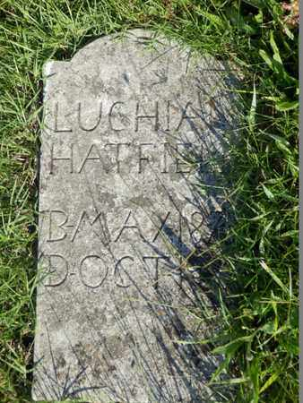 HATFIELD, LUCHIAN - Simpson County, Kentucky   LUCHIAN HATFIELD - Kentucky Gravestone Photos