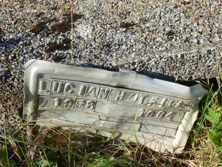 HATFIELD, LUCIAN - Simpson County, Kentucky   LUCIAN HATFIELD - Kentucky Gravestone Photos
