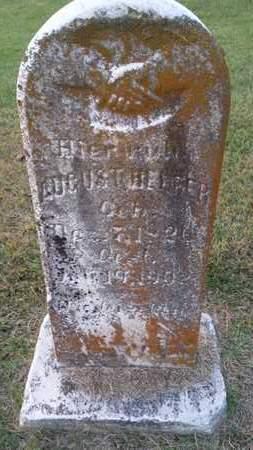 HELFER, AUGUST - Simpson County, Kentucky | AUGUST HELFER - Kentucky Gravestone Photos