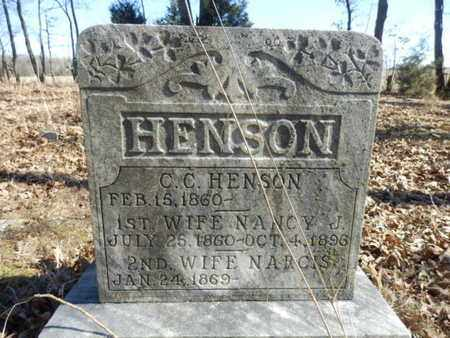 HENSON, C.C. - Simpson County, Kentucky | C.C. HENSON - Kentucky Gravestone Photos