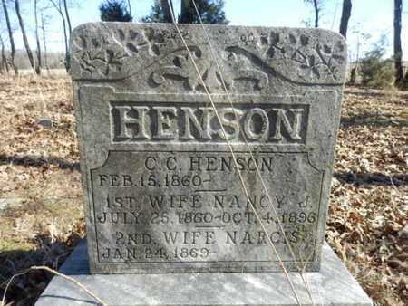 HENSON, NARCIS - Simpson County, Kentucky   NARCIS HENSON - Kentucky Gravestone Photos