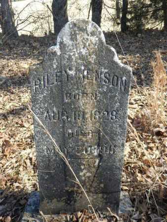 HENSON, RILEY - Simpson County, Kentucky   RILEY HENSON - Kentucky Gravestone Photos