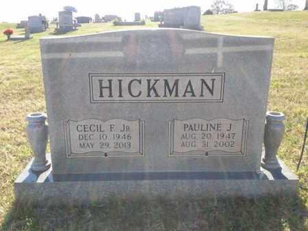 HICKMAN, PAULINE J. - Simpson County, Kentucky   PAULINE J. HICKMAN - Kentucky Gravestone Photos