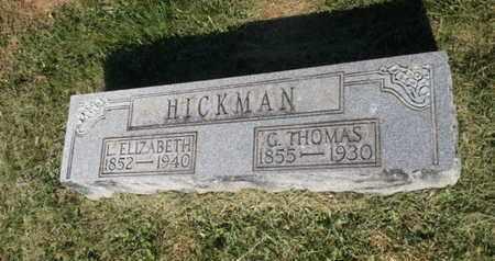 HICKMAN, L. ELIZABETH - Simpson County, Kentucky | L. ELIZABETH HICKMAN - Kentucky Gravestone Photos