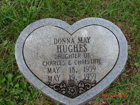HUGHES, DONNA MAY - Simpson County, Kentucky | DONNA MAY HUGHES - Kentucky Gravestone Photos