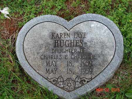 HUGHES, KAREN FAYE - Simpson County, Kentucky | KAREN FAYE HUGHES - Kentucky Gravestone Photos