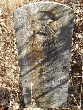 HUNT, ELIZABETH J. - Simpson County, Kentucky | ELIZABETH J. HUNT - Kentucky Gravestone Photos
