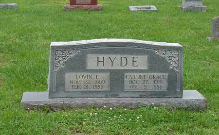 HYDE, LOVIN E. - Simpson County, Kentucky | LOVIN E. HYDE - Kentucky Gravestone Photos