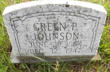 JOHNSON, GREEN P. - Simpson County, Kentucky | GREEN P. JOHNSON - Kentucky Gravestone Photos