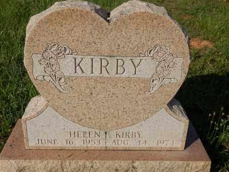 KIRBY, HELEN F. - Simpson County, Kentucky   HELEN F. KIRBY - Kentucky Gravestone Photos