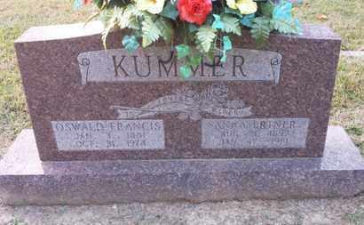 KUMMER, ANNA - Simpson County, Kentucky | ANNA KUMMER - Kentucky Gravestone Photos