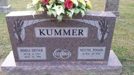 KUMMER, ROMEA ERTNER - Simpson County, Kentucky | ROMEA ERTNER KUMMER - Kentucky Gravestone Photos