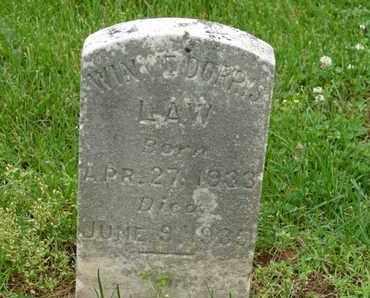 LAW, WINNIE DORRIS - Simpson County, Kentucky | WINNIE DORRIS LAW - Kentucky Gravestone Photos