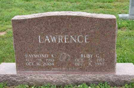 LAWRENCE, RUBY G. - Simpson County, Kentucky | RUBY G. LAWRENCE - Kentucky Gravestone Photos
