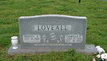 LOVEALL, CAMILLA F. - Simpson County, Kentucky | CAMILLA F. LOVEALL - Kentucky Gravestone Photos