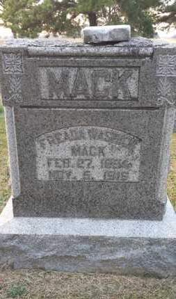 WASHICK MACK, FREADA - Simpson County, Kentucky | FREADA WASHICK MACK - Kentucky Gravestone Photos