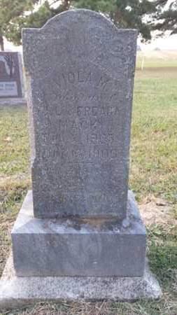 MACK, VIOLA M. - Simpson County, Kentucky | VIOLA M. MACK - Kentucky Gravestone Photos