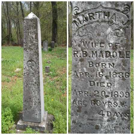 MADOLE, MARTHA J. - Simpson County, Kentucky | MARTHA J. MADOLE - Kentucky Gravestone Photos