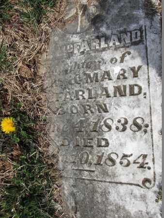 MCFARLAND, ELIZABETH E. - Simpson County, Kentucky | ELIZABETH E. MCFARLAND - Kentucky Gravestone Photos