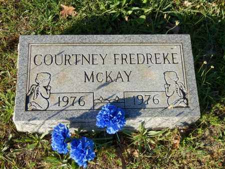 MCKAY, COURTNEY FREDREKE - Simpson County, Kentucky | COURTNEY FREDREKE MCKAY - Kentucky Gravestone Photos