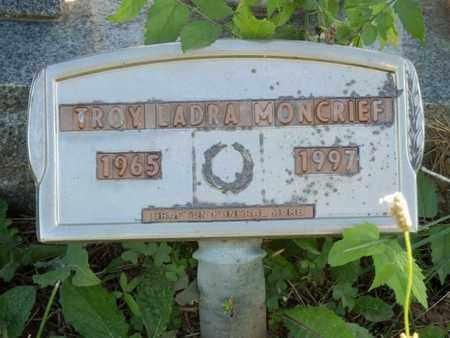 MONCRIEF, TROY LADRA - Simpson County, Kentucky | TROY LADRA MONCRIEF - Kentucky Gravestone Photos