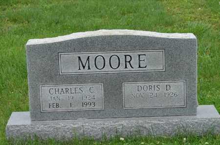 MOORE, CHARLES C. - Simpson County, Kentucky | CHARLES C. MOORE - Kentucky Gravestone Photos