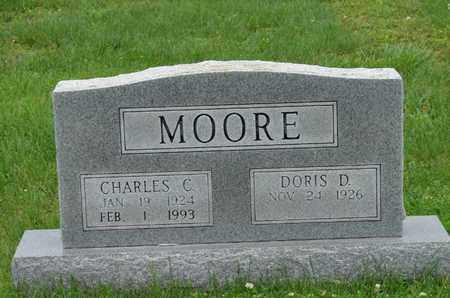 MOORE, CHARLES C. - Simpson County, Kentucky | CHARLES C. MOORE - Kentucky Gravestone Photos