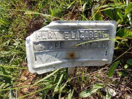 MOORE-KITTER, MARY ELIZABETH - Simpson County, Kentucky   MARY ELIZABETH MOORE-KITTER - Kentucky Gravestone Photos