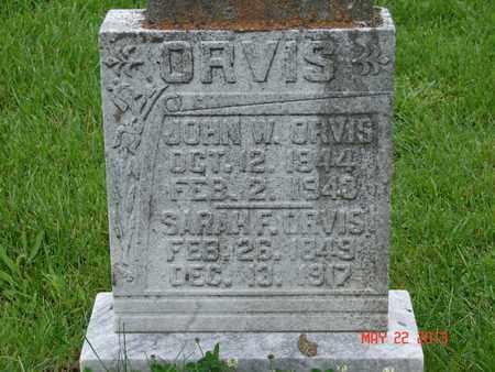 ORVIS, JOHN W. - Simpson County, Kentucky | JOHN W. ORVIS - Kentucky Gravestone Photos