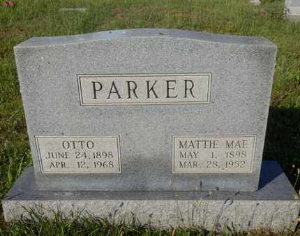 PARKER, MATTIE MAE - Simpson County, Kentucky | MATTIE MAE PARKER - Kentucky Gravestone Photos