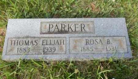 PARKER, ROSA B. - Simpson County, Kentucky   ROSA B. PARKER - Kentucky Gravestone Photos