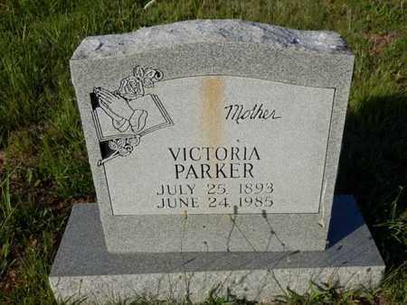 PARKER, VICTORIA - Simpson County, Kentucky | VICTORIA PARKER - Kentucky Gravestone Photos