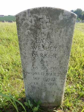 PARKER (VETERAN WWII), EARL WESLEY - Simpson County, Kentucky | EARL WESLEY PARKER (VETERAN WWII) - Kentucky Gravestone Photos