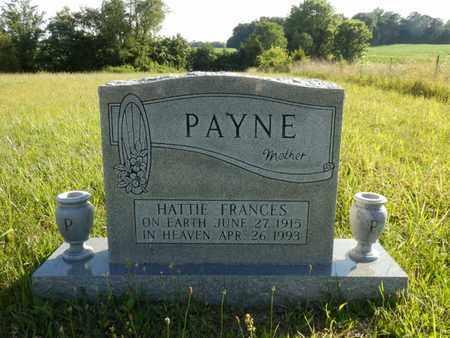 PAYNE, HATTIE FRANCES - Simpson County, Kentucky   HATTIE FRANCES PAYNE - Kentucky Gravestone Photos
