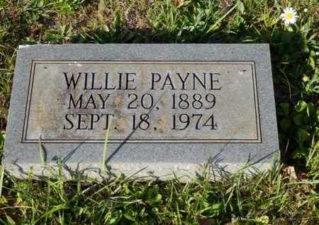 PAYNE, WILLIE - Simpson County, Kentucky | WILLIE PAYNE - Kentucky Gravestone Photos