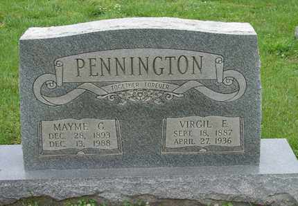 PENNINGTON, VIRGIL E. - Simpson County, Kentucky | VIRGIL E. PENNINGTON - Kentucky Gravestone Photos