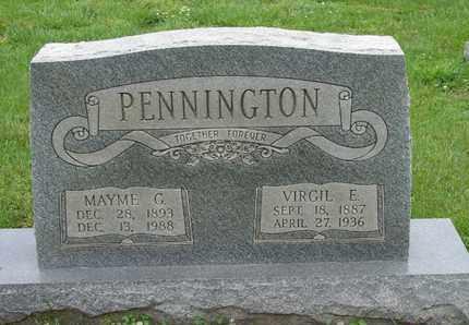 PENNINGTON, VIRGIL E. - Simpson County, Kentucky | VIRGIL E. PENNINGTON - Kentucky Gravestone Photos