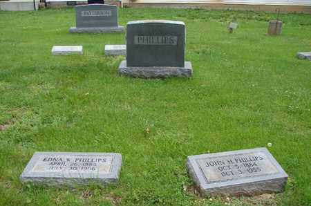 PHILLIPS, EDNA & JOHN (PLOT) - Simpson County, Kentucky | EDNA & JOHN (PLOT) PHILLIPS - Kentucky Gravestone Photos