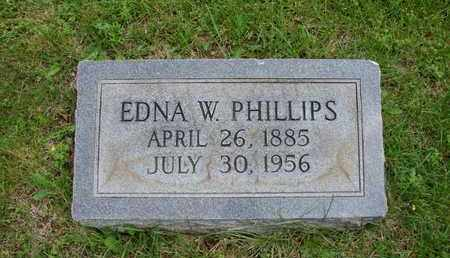 PHILLIPS, EDNA W. - Simpson County, Kentucky | EDNA W. PHILLIPS - Kentucky Gravestone Photos