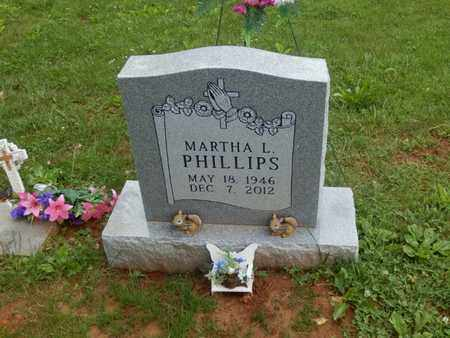 PHILLIPS, MARTHA L. - Simpson County, Kentucky | MARTHA L. PHILLIPS - Kentucky Gravestone Photos