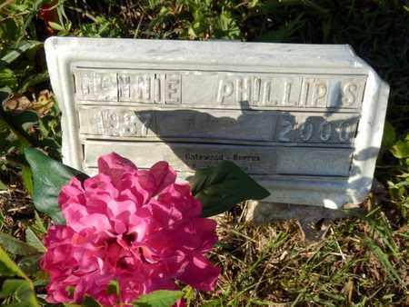 PHILLIPS, NANNIE - Simpson County, Kentucky | NANNIE PHILLIPS - Kentucky Gravestone Photos