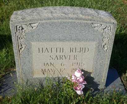 SARVER, HATTIE REED - Simpson County, Kentucky | HATTIE REED SARVER - Kentucky Gravestone Photos