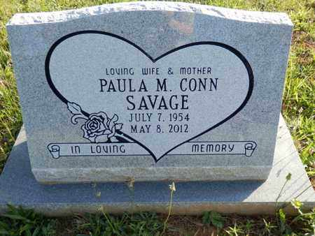 CONN SAVAGE, PAULA M. - Simpson County, Kentucky | PAULA M. CONN SAVAGE - Kentucky Gravestone Photos