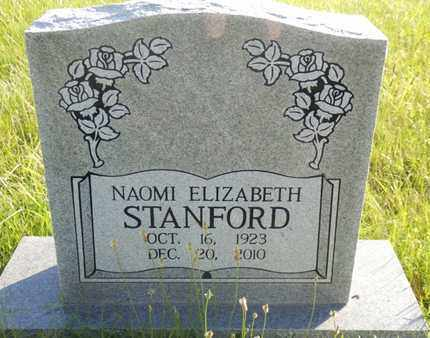 STANFORD, NAOMI ELIZABETH - Simpson County, Kentucky | NAOMI ELIZABETH STANFORD - Kentucky Gravestone Photos