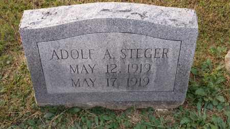 STEGER, ADOLF A. - Simpson County, Kentucky | ADOLF A. STEGER - Kentucky Gravestone Photos