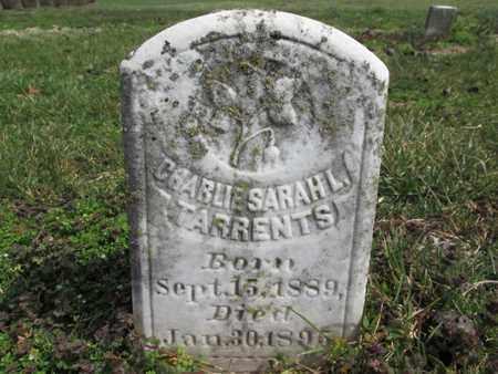 TARRENTS, CHARLIE SARAH L. - Simpson County, Kentucky | CHARLIE SARAH L. TARRENTS - Kentucky Gravestone Photos