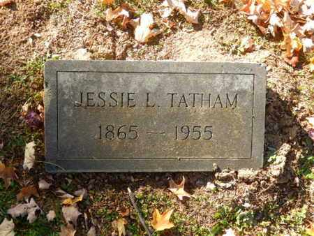 TATHAM, JESSIE L. - Simpson County, Kentucky | JESSIE L. TATHAM - Kentucky Gravestone Photos