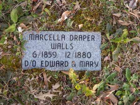 DRAPER WALLS, MARCELLA - Simpson County, Kentucky | MARCELLA DRAPER WALLS - Kentucky Gravestone Photos